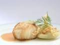 Lotte, Déclinaison de Fenouil, Ecrasé de Pomme de Terre aux Herbes, Sauce Chorizo 3